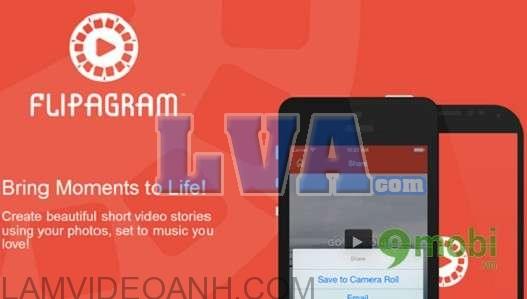 phần mềm làm video ảnh trên điện thoại Flipagram