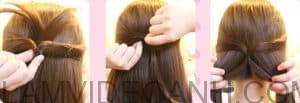 tóc tét viền hai bên xương cá