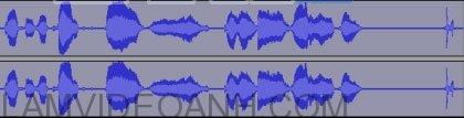 phần sửa âm thanh trong Audacity
