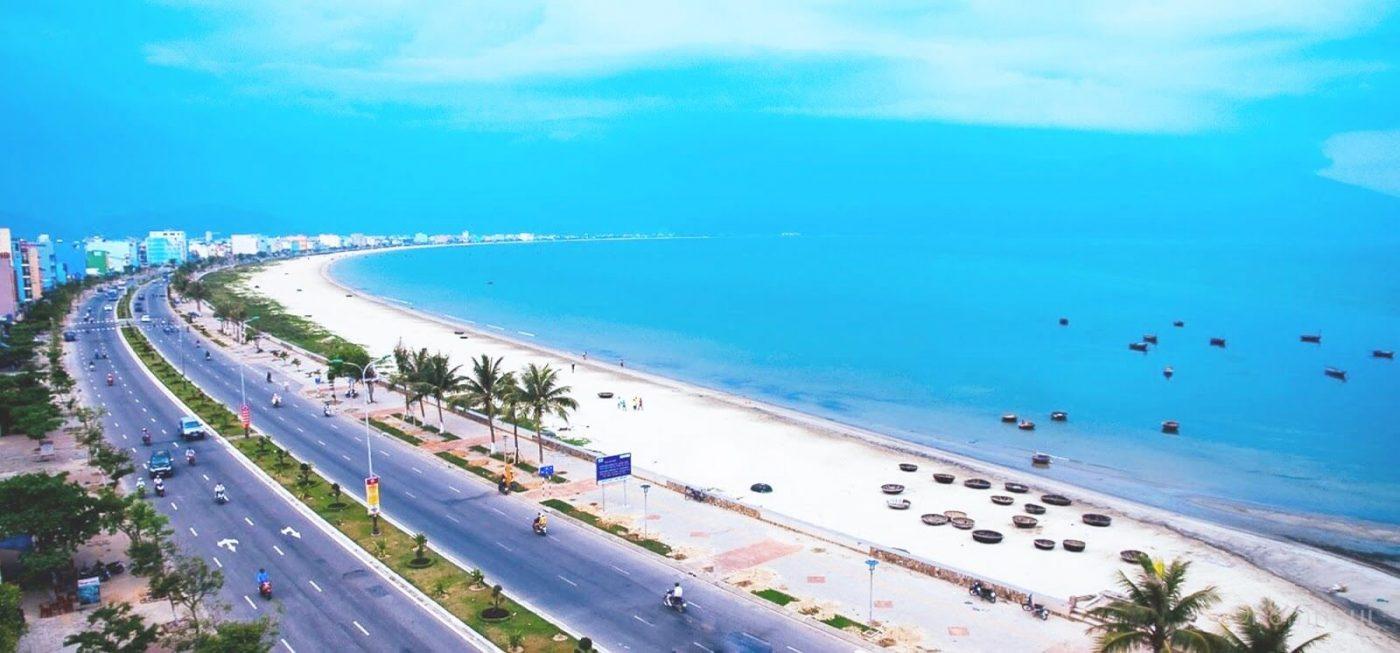 Hình ảnh chụp bằng Flycam tại biển Đà Nẵng