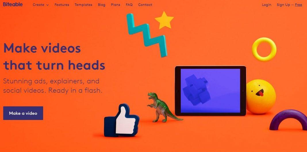 Website biteable.com