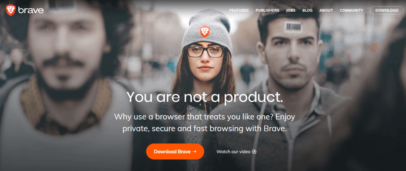 Nền tảng Brave Browser
