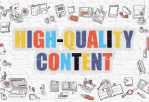 hình ảnh mô tả cho chất lượng nội dung