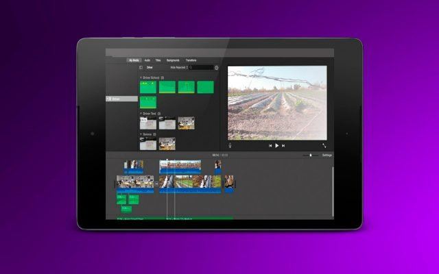 Phần mềm iMovie